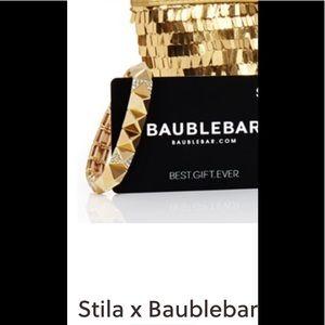 STILA X BAUBLEBAR GOLD BRACELET